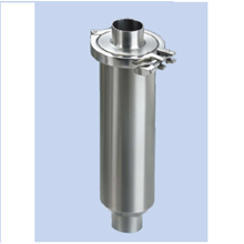 Clamped Straight Strainer