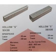 Rangka Plafon Hollow S 13x18 38x38 Galvalum
