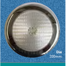 Lampu Kolam Renang LED Auntum Solar - Concrete Large ASR 171