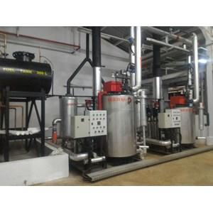 Jasa Pembuatan Boiler Feed Tank di Medan
