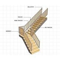 Jasa Konstruksi Tangga By Sinartech Multi Perkasa