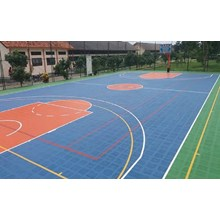Basketball Court Construction Services in Medan