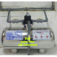 Jual SUN Water Filter SS Horisontal