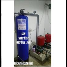 SUN Water Filter FRP Blue 1354