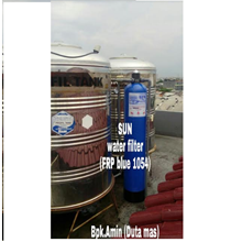 SUN Water Filter FRP Blue 1054