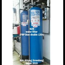 SUN Water Filter FRP Blue Double 1354