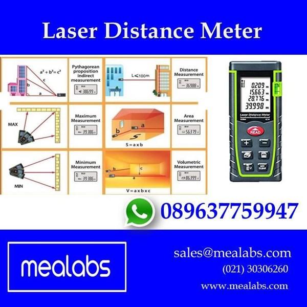 Jual Meteran Laser (Laser Distance Meter)