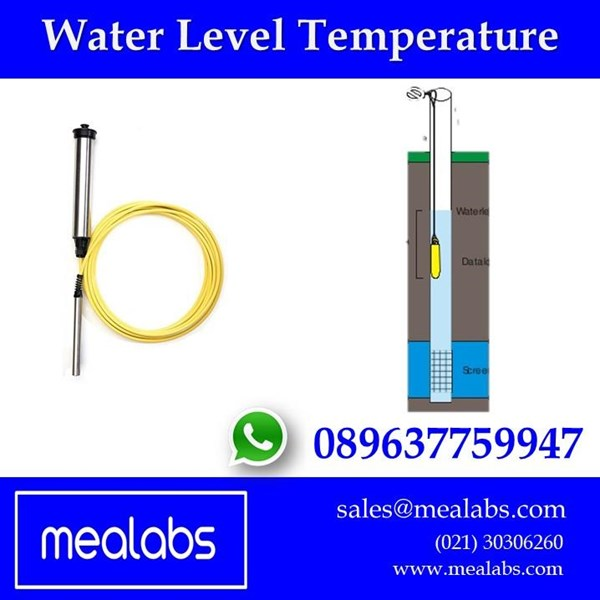 Jual  Alat Ukur Suhu Air (Water Level Data Logger)