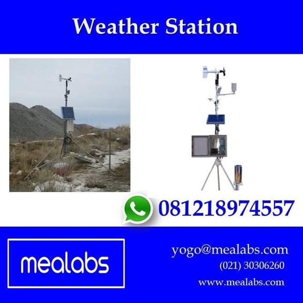 Jual Alat Uji Pemantau Cuaca (Weather Station)