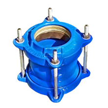 Coupling For HDPE With Grip