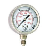 Pressure Gauge All Stainless Steel