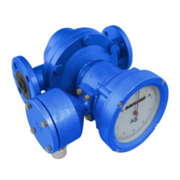 Positive Displacement Flowmeter - Oval Gear