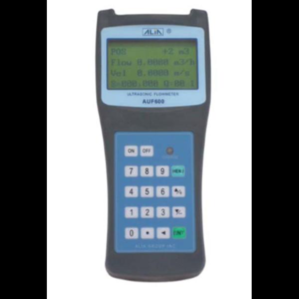 Portable Transit-Time Ultrasonic Flowmeter (Model AUF600 Series)