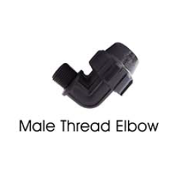 Male Thread Elbow