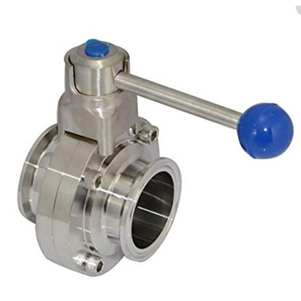 Sanitary Butterfly Valve Stainless Steel