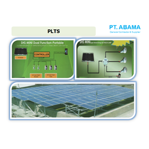 Instalasi Pembangkit Listrik Tenaga Surya (PLTS) By PT. Abama