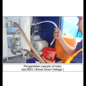 Pengambilan Sample Oil Trafo By PT Promindo Utama Wisesa