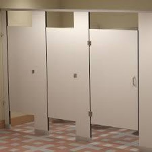 Dinding Partisi Cubicle Toilet