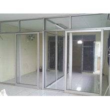 Office partitions Aluminium Glass