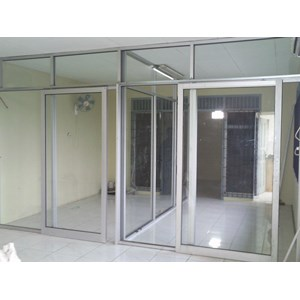 sell office partitions aluminium glass. Black Bedroom Furniture Sets. Home Design Ideas