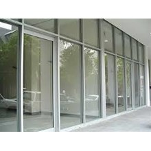 Aluminium Glass partitions