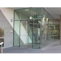 Glass partitions Folding