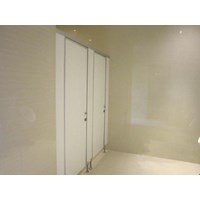 Fabrication and Installation of Partitions Toilet