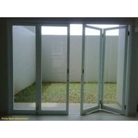 Pintu Lipat Kaca Frameless 1