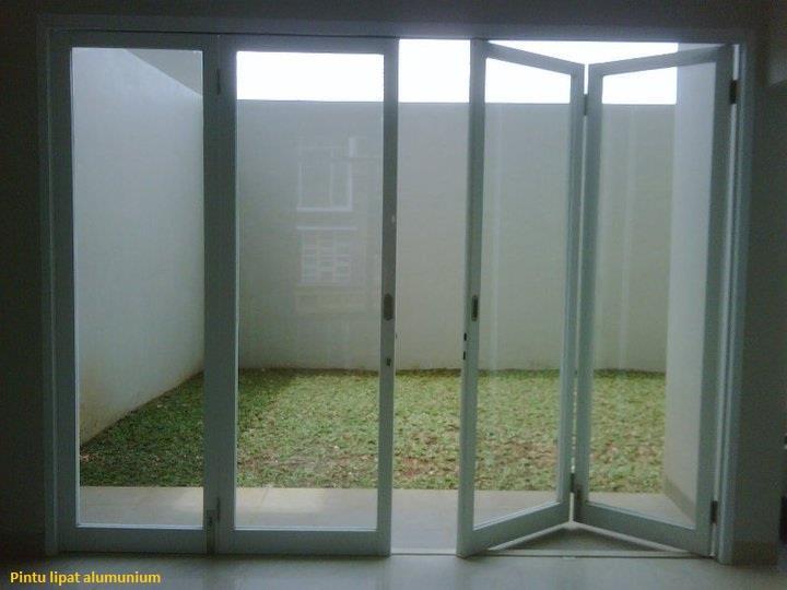 Jual Aluminium Kaca Pintu Partisi Gipsum Glass Work Harga