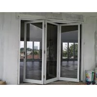 Attach Aluminium Folding Door and Window