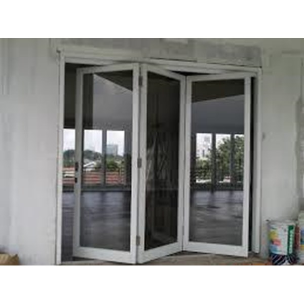 Pasang Pintu Lipat dan  Jendela Aluminium