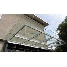 Atap Canopy Kaca