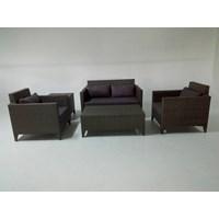 Sofa Rotan Sintetis- Havana Set