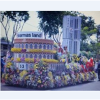 Decorative Flower Car