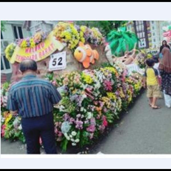Bunga Hias Mobil Dekorasi