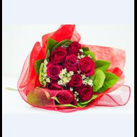 Jual Bunga Bouquet Mawar Merah