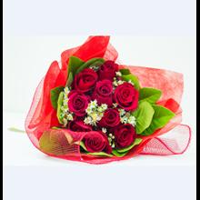 Bunga Bouquet Mawar Merah