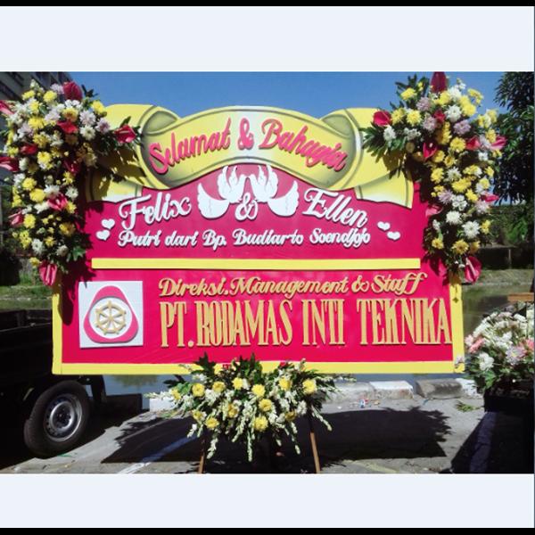 Bunga Papan Untuk Acara Pernikahan