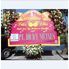 Bunga Papan Ucapan Pernikahan 1