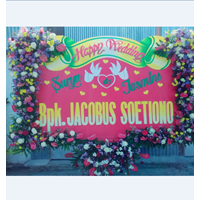 Bunga Papan Selamat Untuk Pernikahan