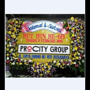 Rangkaian Bunga Papan Ucapan Selamat dan Sukses Surabaya