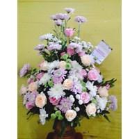 karangan bunga anniversary