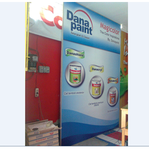 Backdrop Promosi By Toko Provisual Digital Printing & Advertising