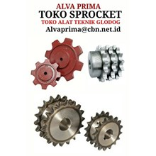 SPROCKET SPROKET FOR CHAIN TOKO ALAT TEKNIK ALVA LTC GLODOG