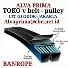 V-Belt BANROPE BELT STOKIST TOKO ALVA LTC GLODOG JUAL BANROPE