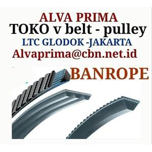 Dari TIMING Belt BANROPE BELT STOKIST TOKO ALVA LTC GLODOG   0