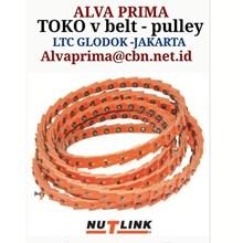 V-Belt NU T LINK POWERTWIST BELT STOKIST TOKO ALVA LTC BRAMMER LINKBELT