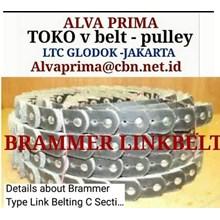 V-Belt BRAMMER  LINK V BELT TOKO ALVA PRIMA LTC GLODOG LINKBELT