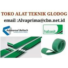 HABASIT AMMERAAL PVC PU CONVEYOR BELT TOKO ALVA PRIMA GLODOG