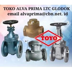 Dari TOYO VALVE PT ALVA PRIMA GLODOG LTC Check Valve TOYO 0